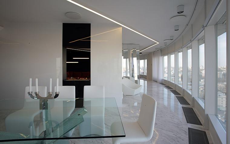 Квартира. столовая из проекта , фото №51934