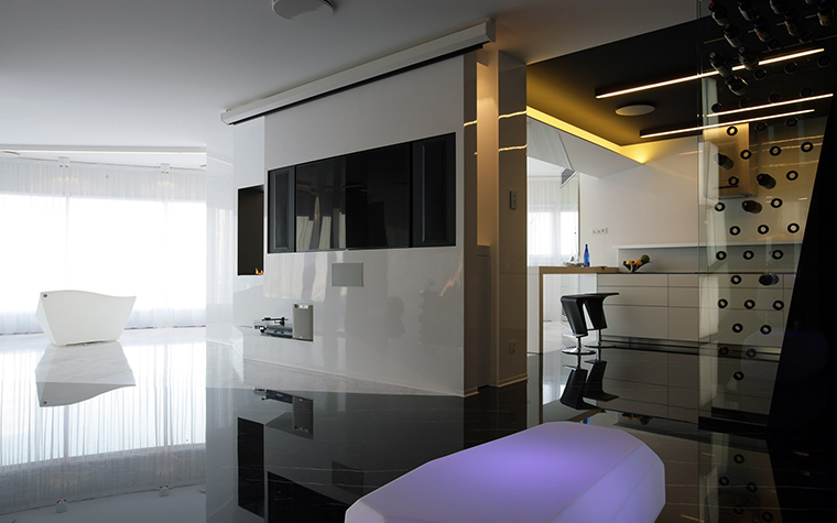 интерьер гостиной - фото № 51937