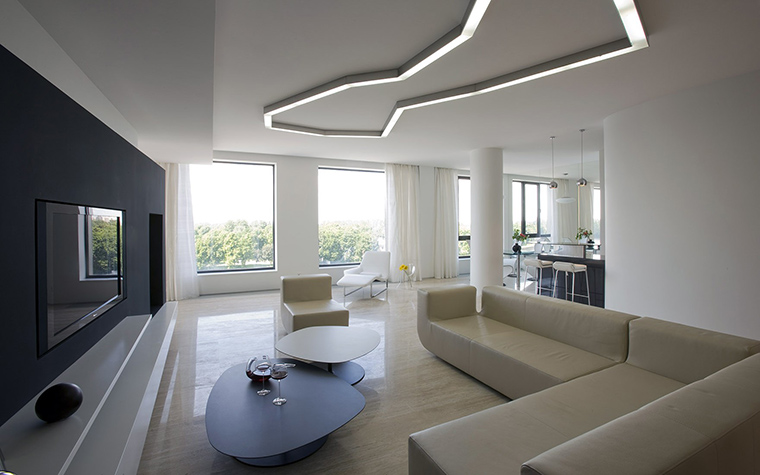 интерьер гостиной - фото № 52078