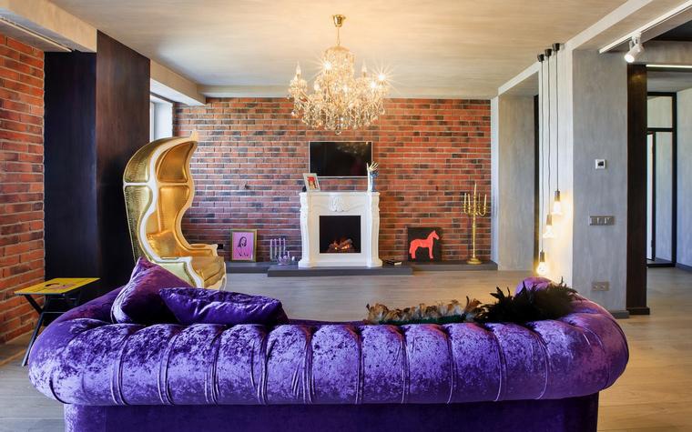 интерьер гостиной - фото № 52219