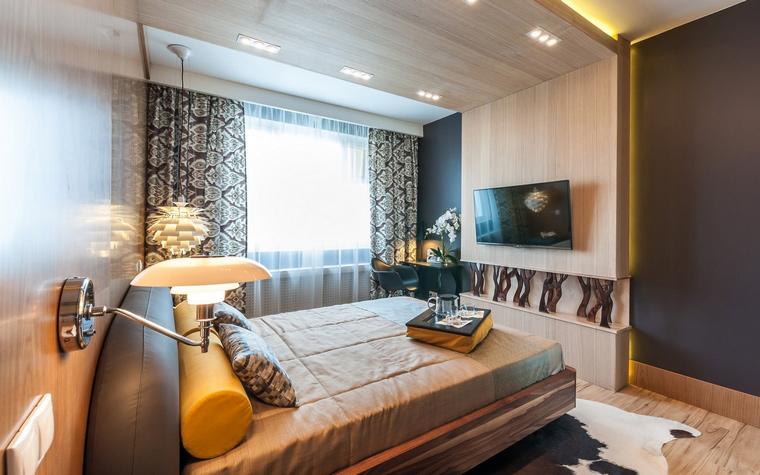 интерьер спальни - фото № 52250