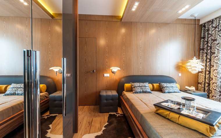 интерьер спальни - фото № 52252