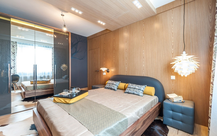 интерьер спальни - фото № 52257