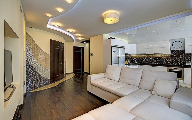 интерьер гостиной - фото № 52279