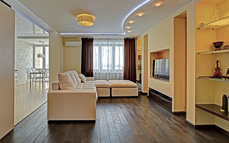 Фото № 52278 гостиная  Квартира