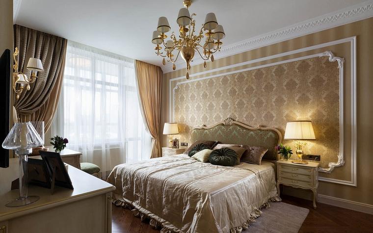 Интерьеры спален с дорогой мебелью
