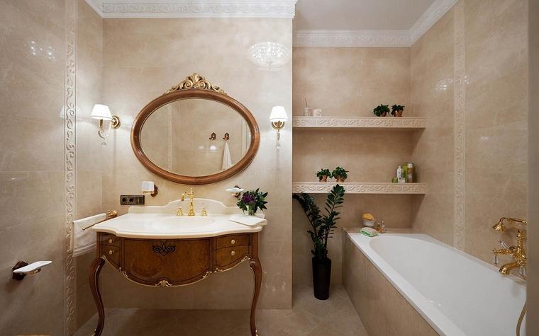 Квартира. ванная из проекта , фото №52351