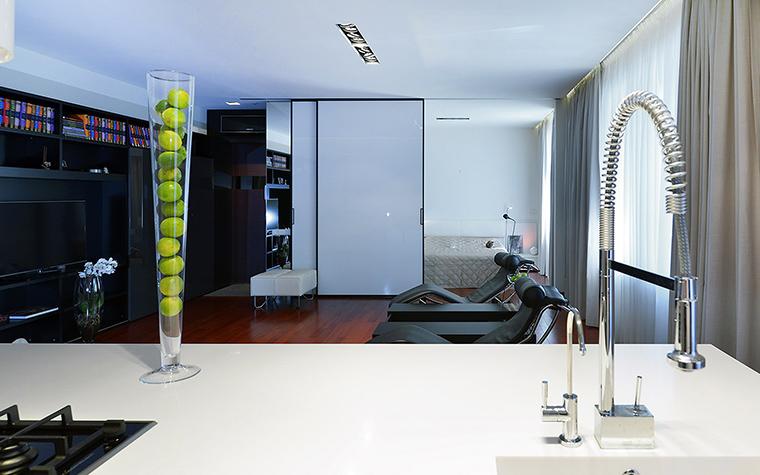 интерьер гостиной - фото № 52361