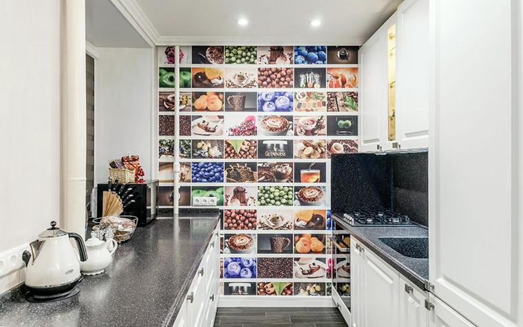 Квартира. кухня из проекта , фото №52456