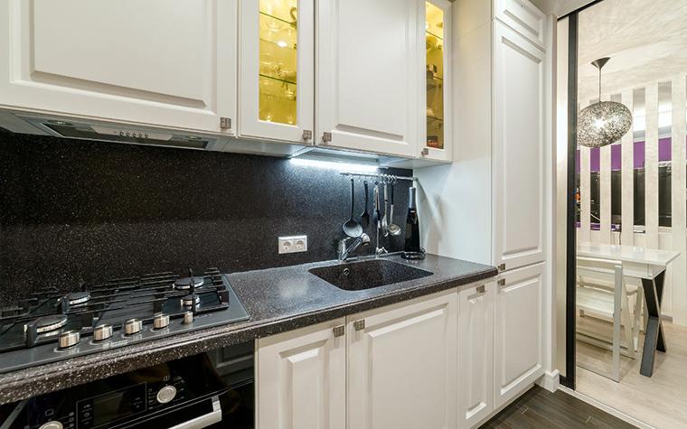 Квартира. кухня из проекта , фото №52457