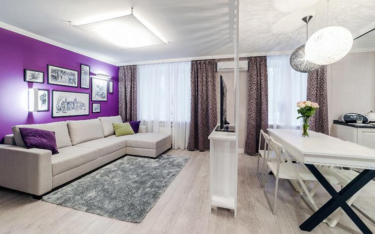 Квартира. столовая из проекта , фото №52460