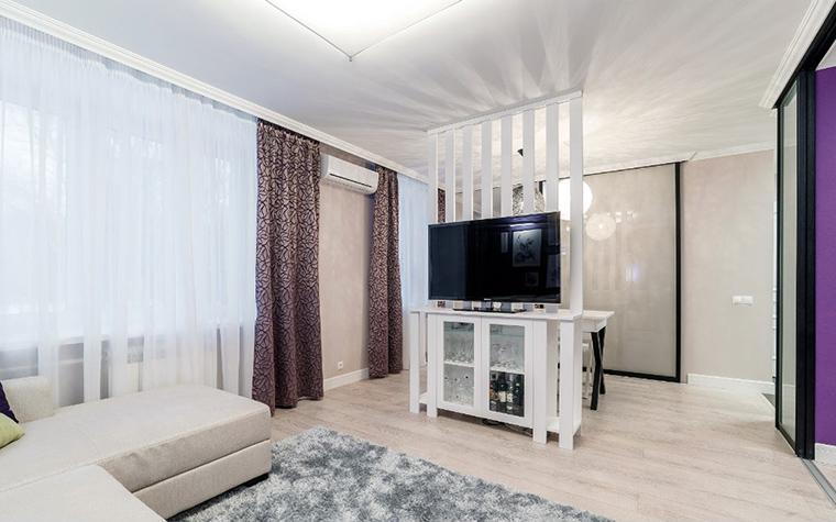 Квартира. гостиная из проекта , фото №52463