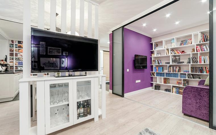 Квартира. гостиная из проекта , фото №52464
