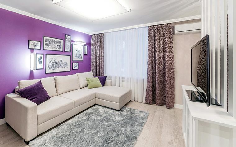 Квартира. гостиная из проекта , фото №52465