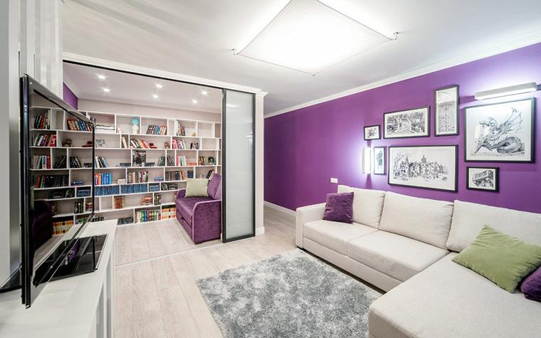 Квартира. гостиная из проекта , фото №52466