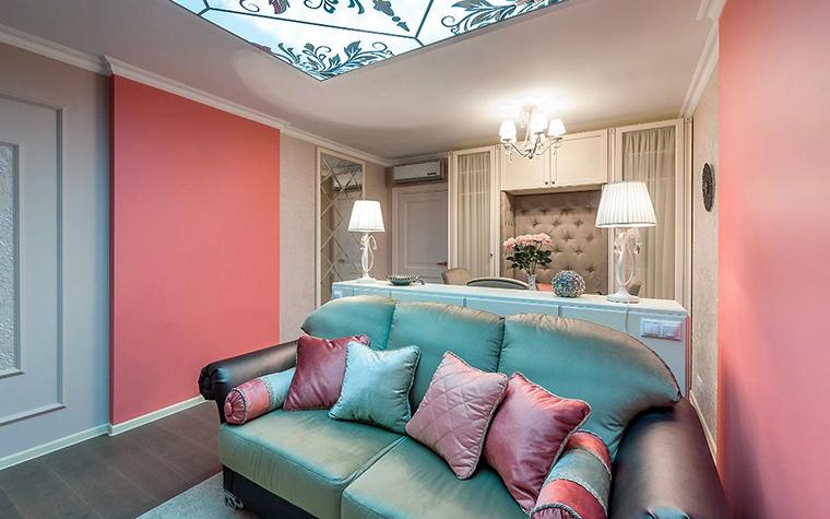 интерьер гостиной - фото № 52488