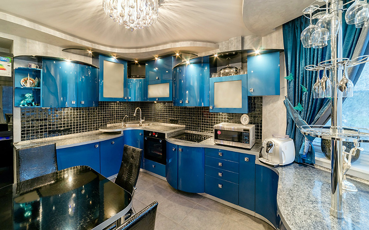 Фото № 52494 кухня  Квартира