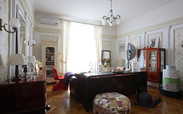 интерьер гостиной - фото № 52510