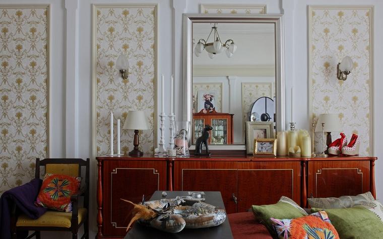 интерьер гостиной - фото № 52508