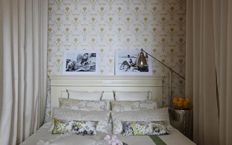 интерьер спальни - фото № 52512