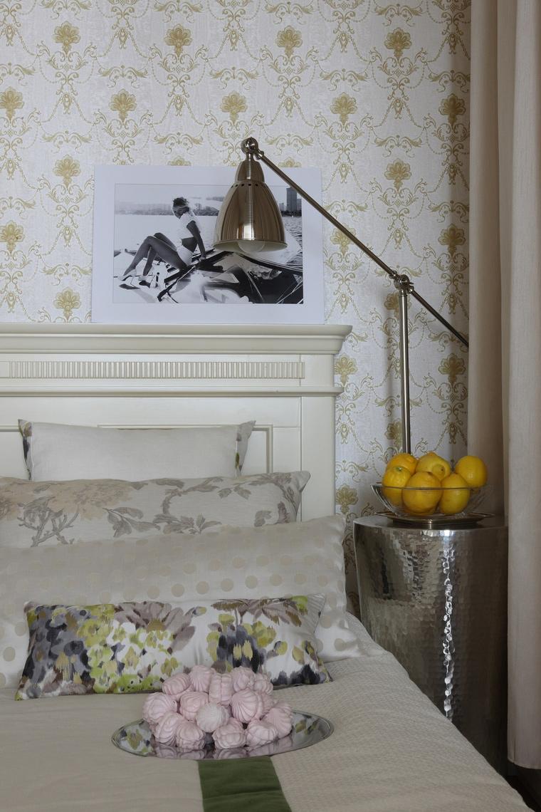 интерьер спальни - фото № 52514