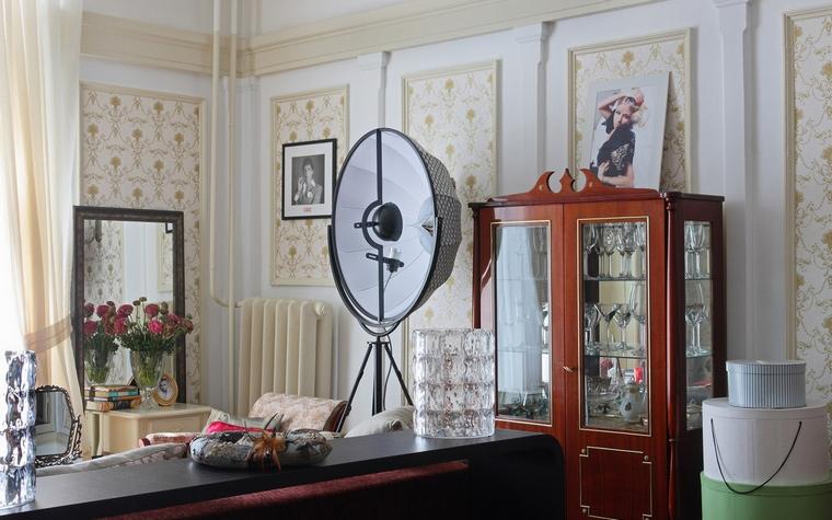 интерьер гостиной - фото № 52511