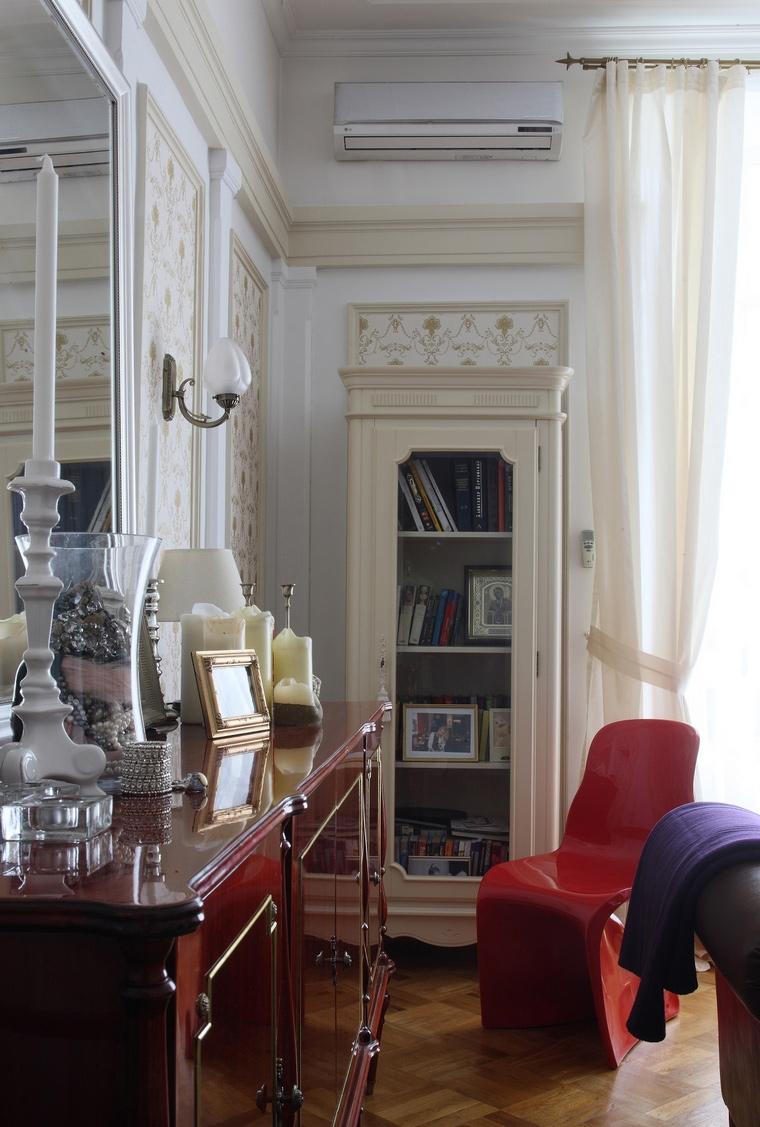 интерьер гостиной - фото № 52500