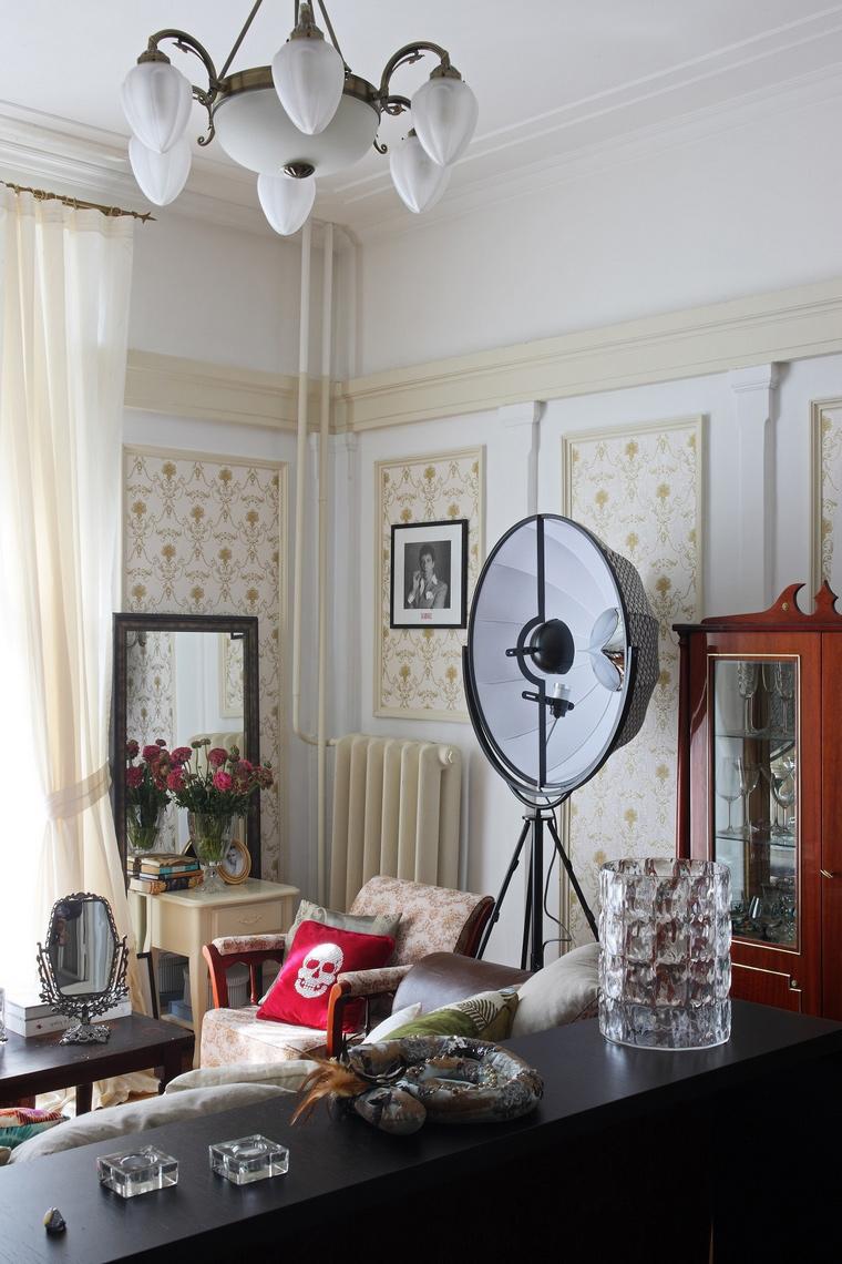 интерьер гостиной - фото № 52502