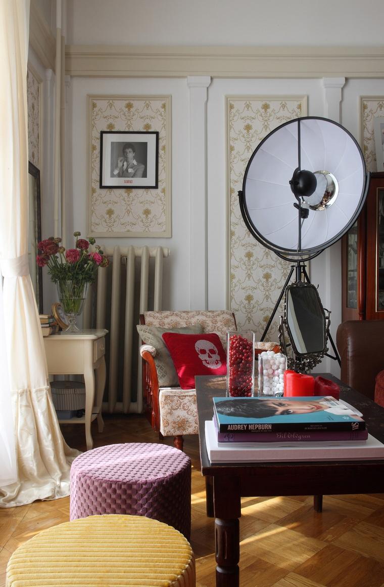 интерьер гостиной - фото № 52504