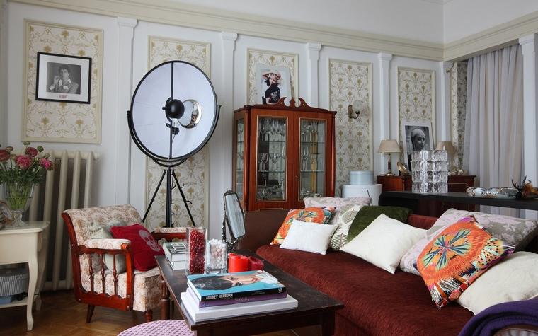 интерьер гостиной - фото № 52505