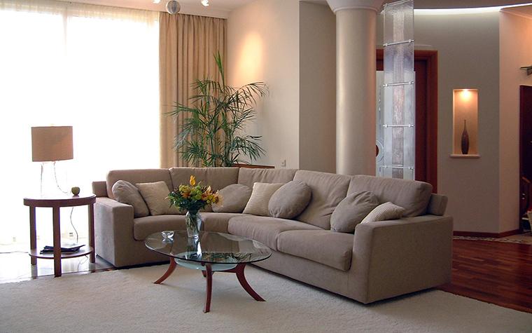 интерьер гостиной - фото № 52543