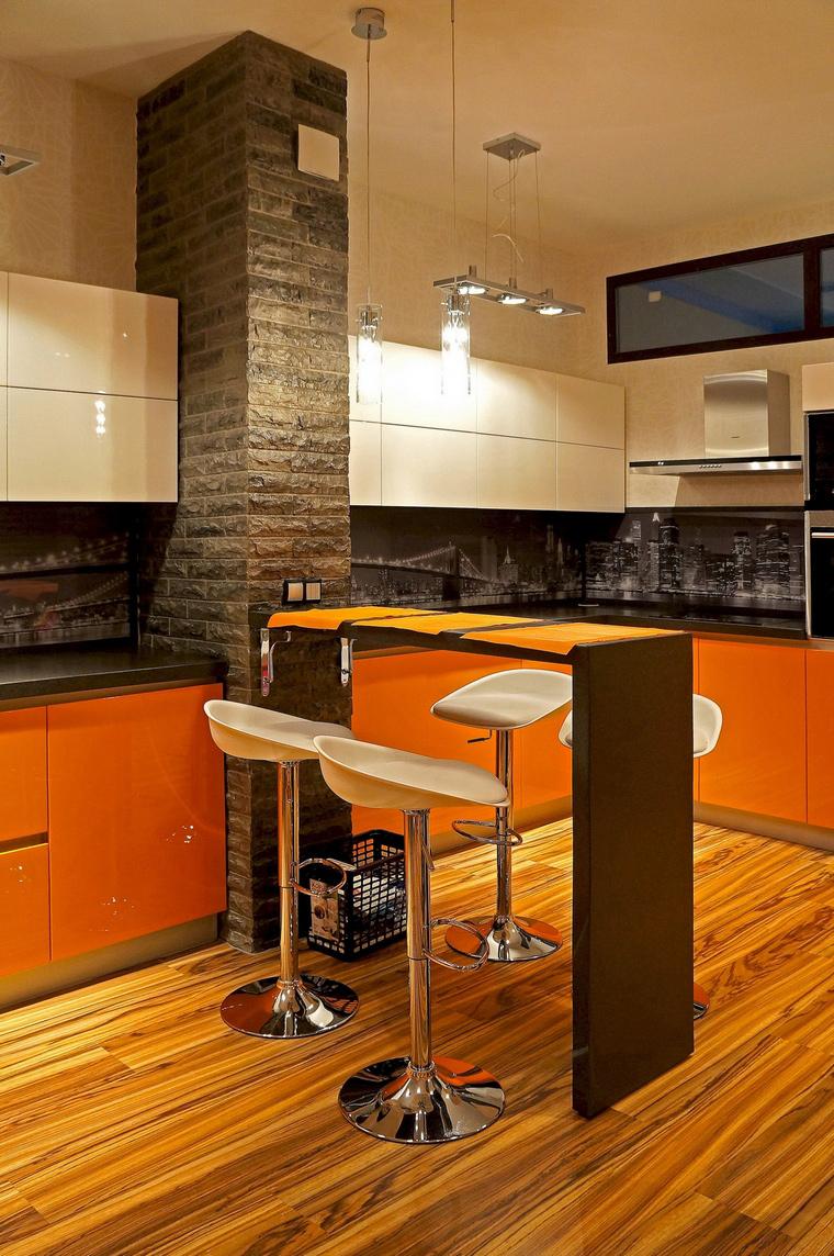Фото № 52551 кухня  Квартира