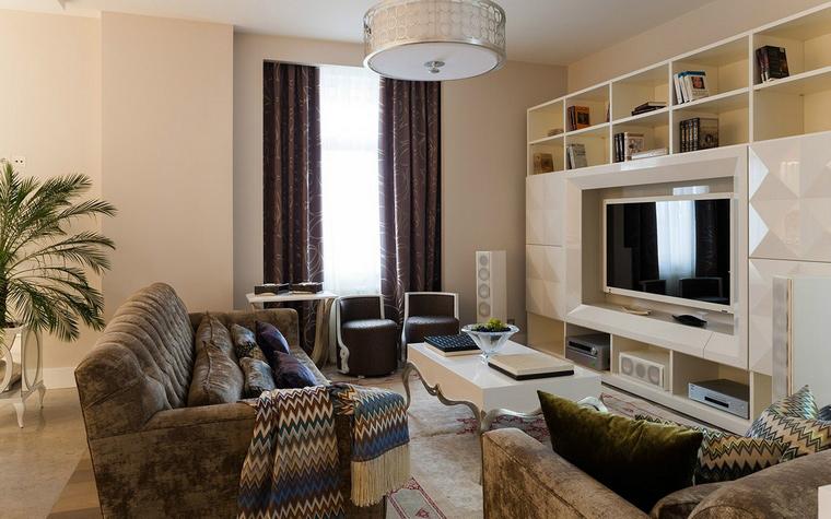 Фото № 52594 гостиная  Квартира