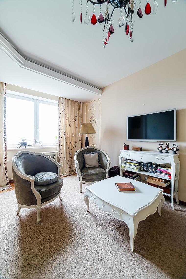 интерьер гостиной - фото № 52624