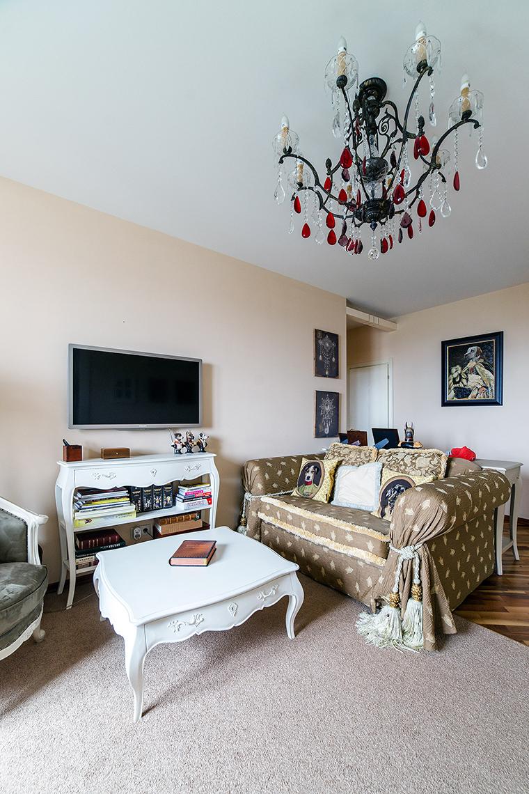интерьер гостиной - фото № 52625