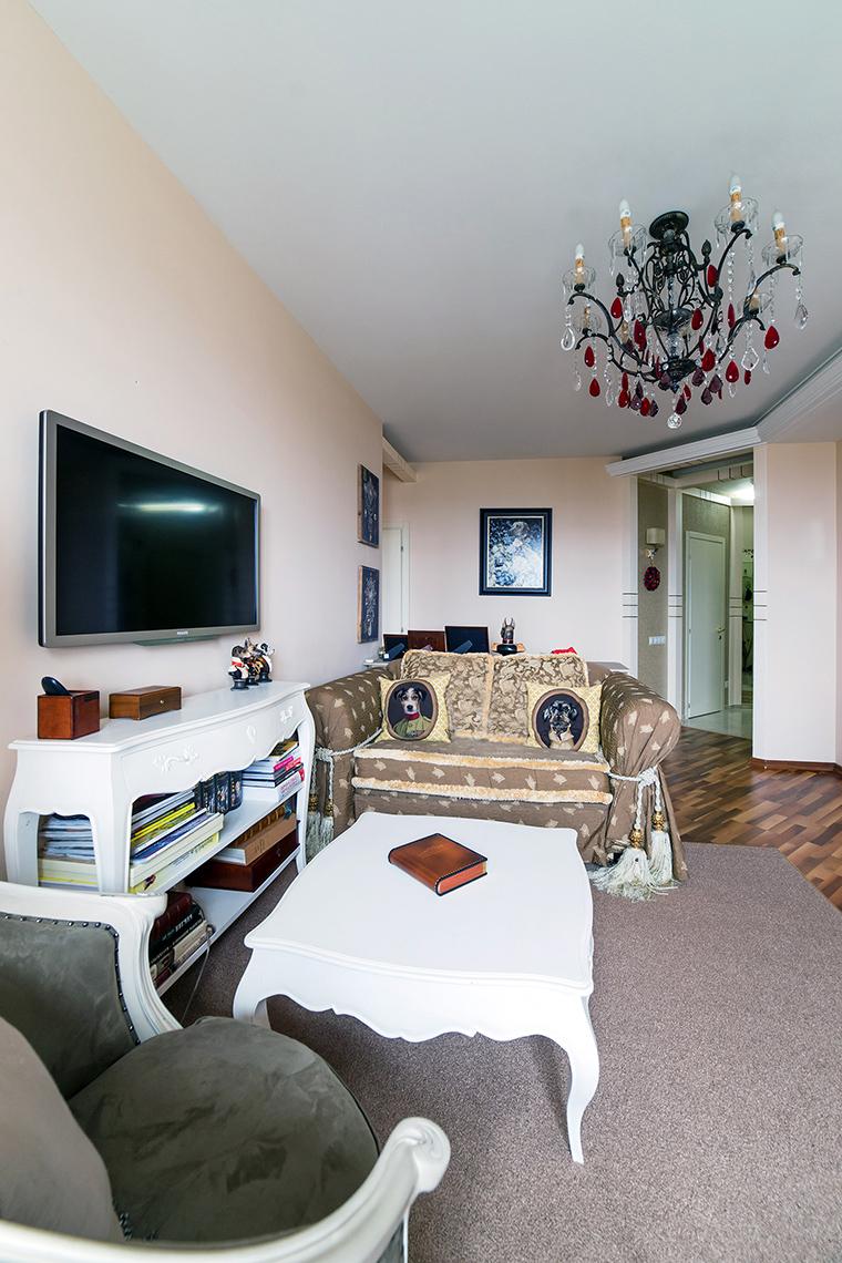 интерьер гостиной - фото № 52626
