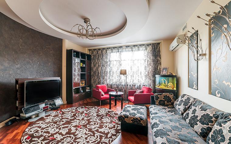 Фото № 52675 гостиная  Квартира