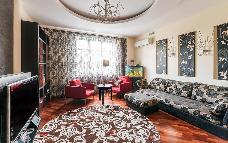 Фото № 52676 гостиная  Квартира