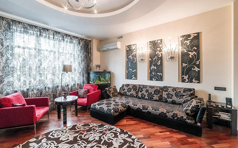 Фото № 52677 гостиная  Квартира