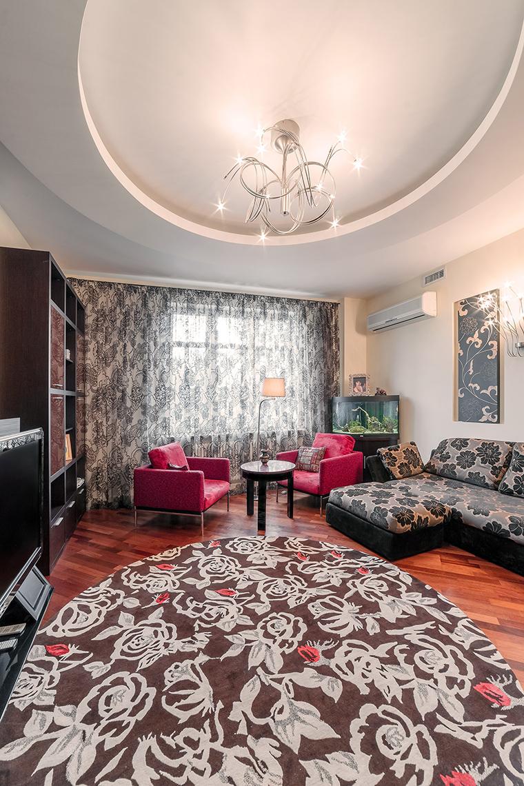 Фото № 52678 гостиная  Квартира