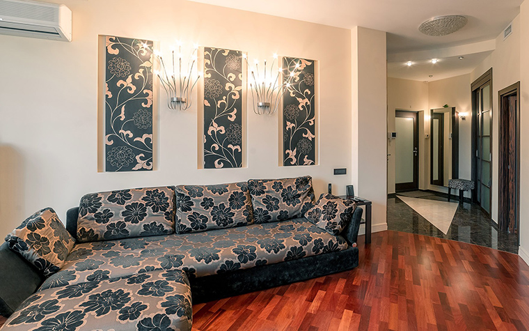 Фото № 52679 гостиная  Квартира