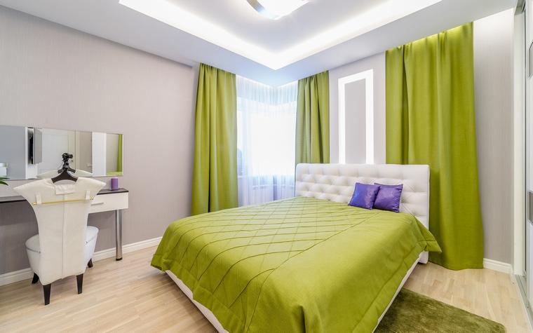 Квартира. спальня из проекта , фото №52712