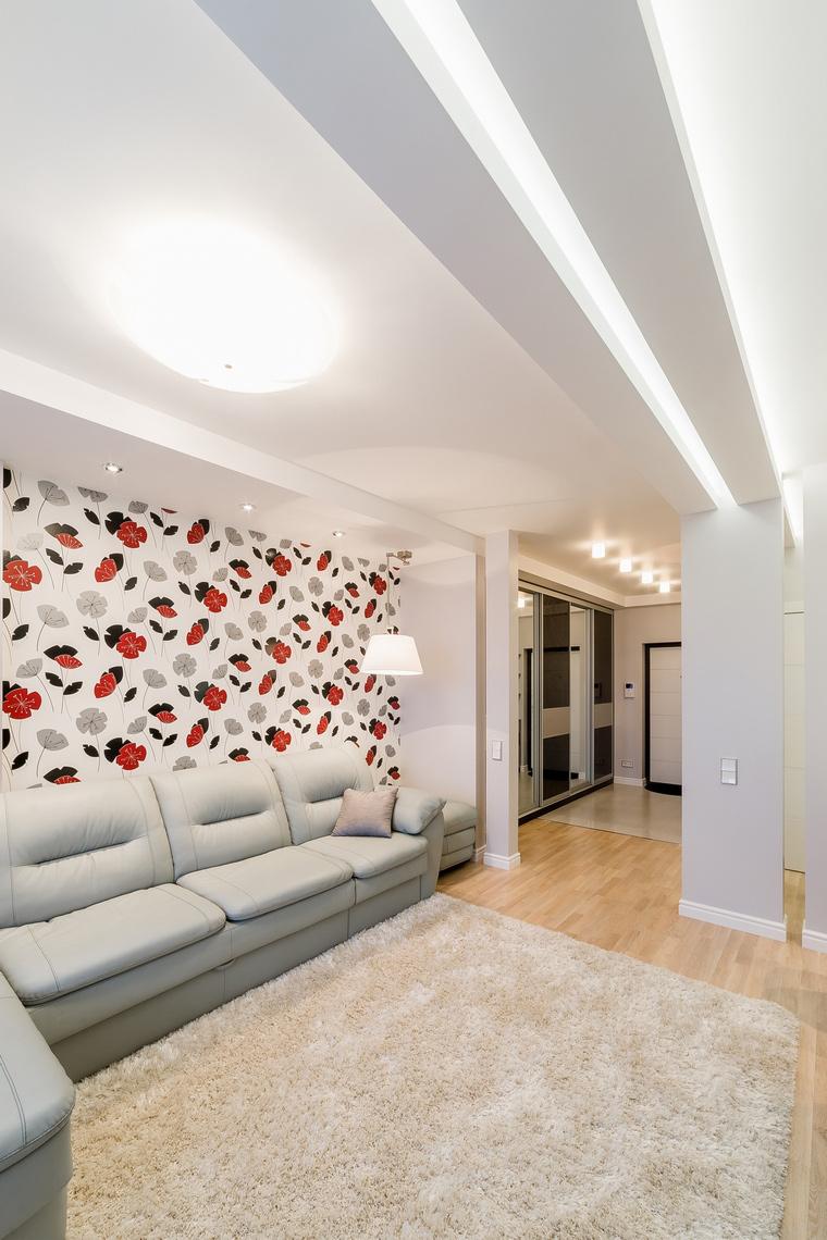 Фото № 52702 гостиная  Квартира