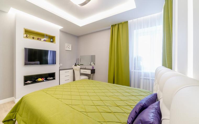 Квартира. спальня из проекта , фото №52713