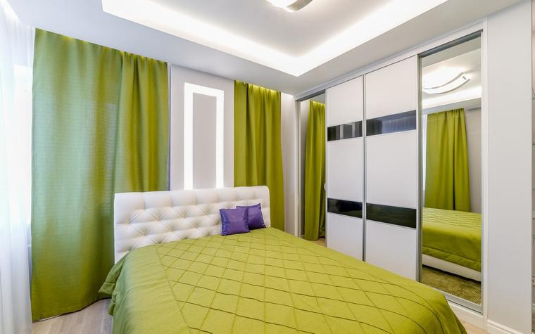 Квартира. спальня из проекта , фото №52714