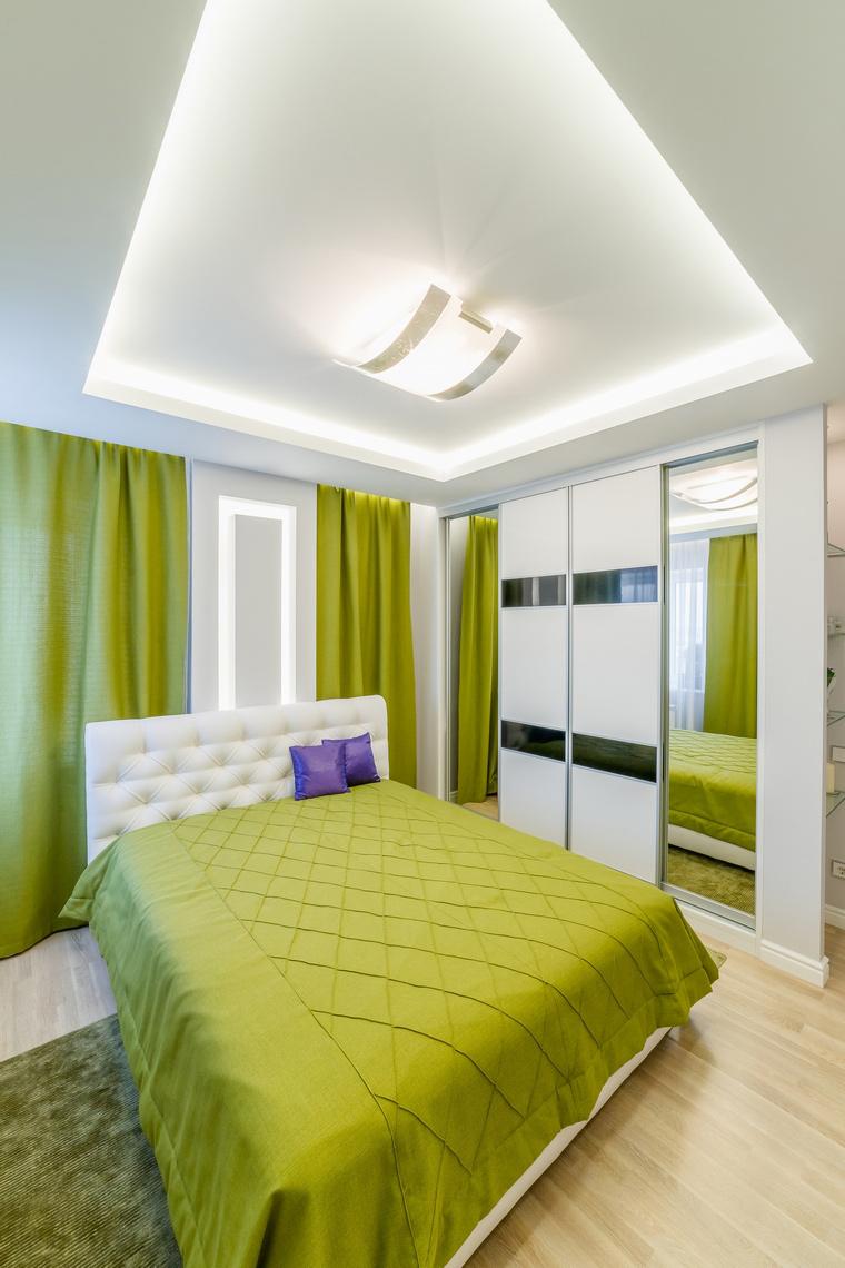 Квартира. спальня из проекта , фото №52715