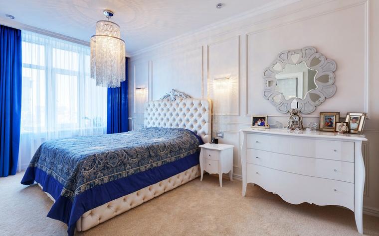 интерьер спальни - фото № 52797