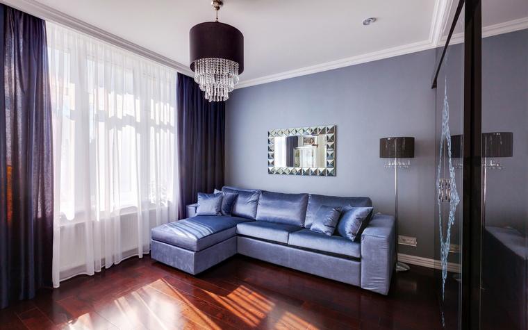 <p>Автор проекта:   U-Style</p> <p>Сиреневый с оттенком синего - это очень благородно.</p>