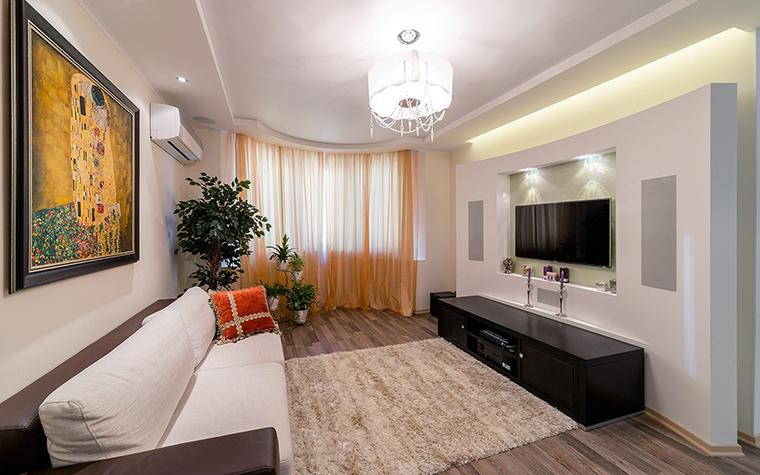 Фото № 52845 гостиная  Квартира