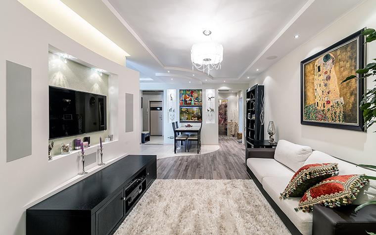 Фото № 52847 гостиная  Квартира